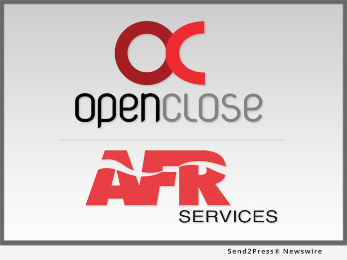 f5dd2c573 Software: OpenClose Adds AFR's Flood Services to its LOS via Seamless  Interface | Publishers Newswire