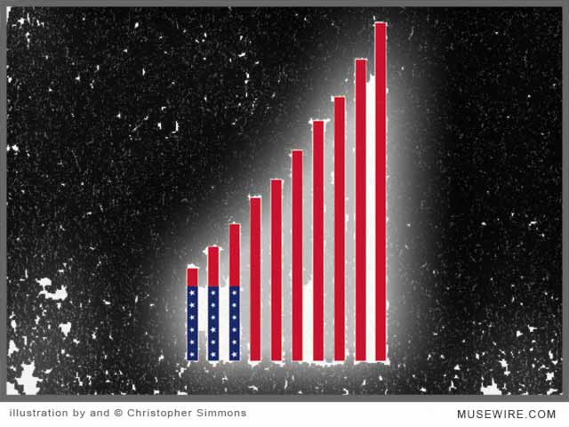Simmons Illustration: America Ascendant