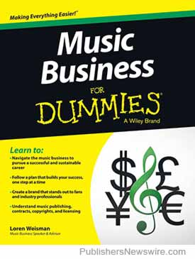 'Music Business For Dummies'